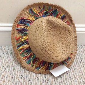 Accessories - 🆕 Straw hat with rainbow fringe